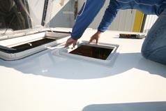 fiches pratique montage d 39 un climatiseur truma avanta comfort pour camping car. Black Bedroom Furniture Sets. Home Design Ideas